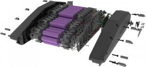 Baterie PowerPack – 745 Wh   motory Yamaha