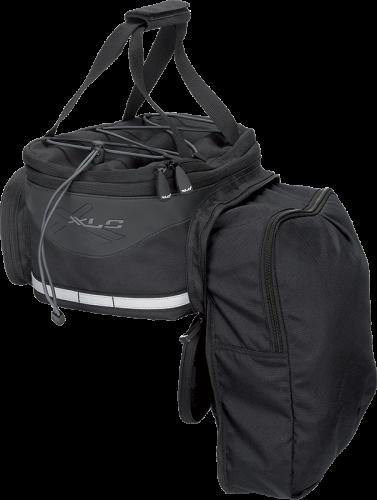 Brašny na nosiče XLC Carry More BA-S64 – černá
