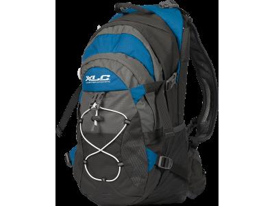 Cyklistický batoh XLC BA-S48, šedá/modrá/bíla – s objemem 18l