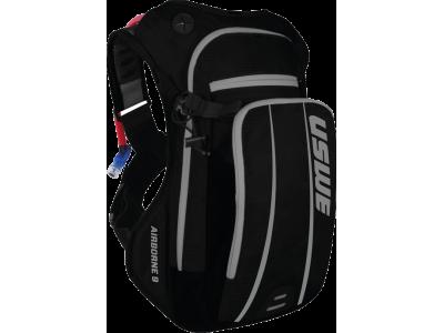 Cyklistický batoh s nápojovým vakem USWE Airborne 9 černá/šedá