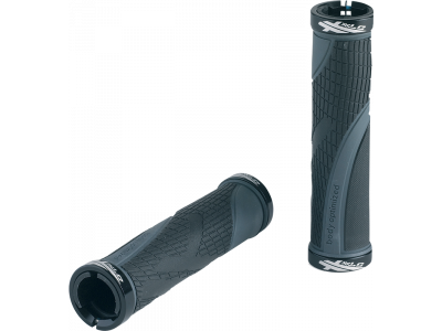 Gripy XLC Sport GR-S23 – černá/šedá