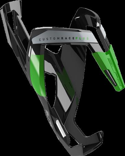 Držák na láhev Elite Custom Race Plus – černá/zelená