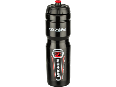 Cyklistická láhev Zéfal Magnum 1L černá