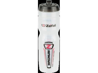 Cyklistická láhev Zéfal Magnum 1L průhledná