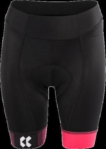 Dámské cyklistické kalhoty KALAS Motion – černá/růžová
