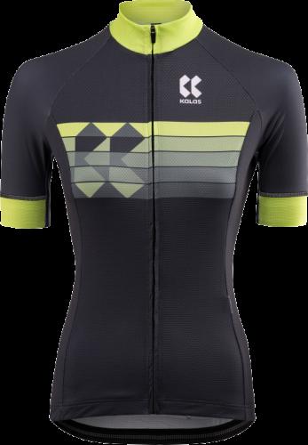 Dámský cyklistický dres KALAS motion Z – šedá/zelená