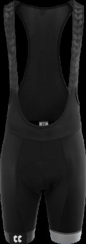 Pánské cyklistické kalhoty KALAS Motion s laclem - černá/šedá
