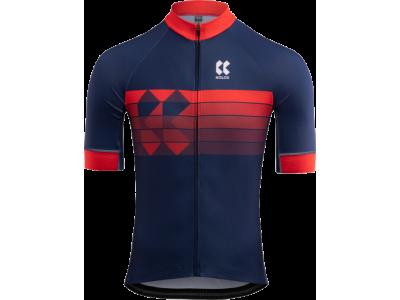 Pánský cyklistický dres KALAS motion Z – modrá/červená