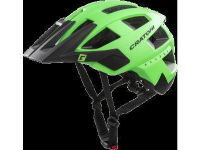 Cyklistická helma Cratoni AllSet – zelená/černá