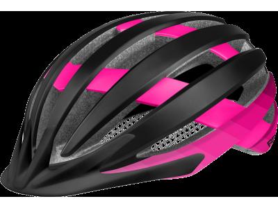 Cyklistická přilba R2 ATH27D VENTU – černá/růžová