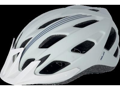 Cyklistická přilba XLC BH-C28 – bílá/modrá