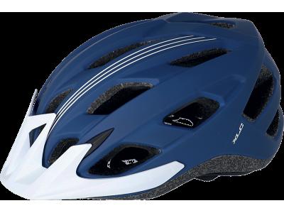 Cyklistická přilba XLC BH-C28 – modrá/bílá