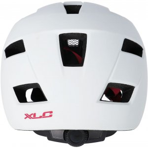 Cyklistická přilba XLC BH-C30 – bílá/růžová