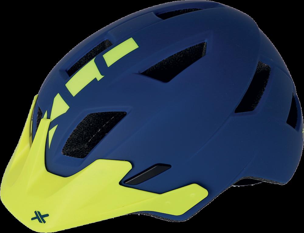 Cyklistická přilba XLC BH-C30 – modrá/žlutá