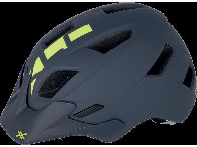 Cyklistická přilba XLC BH-C30 – šedá/žlutá