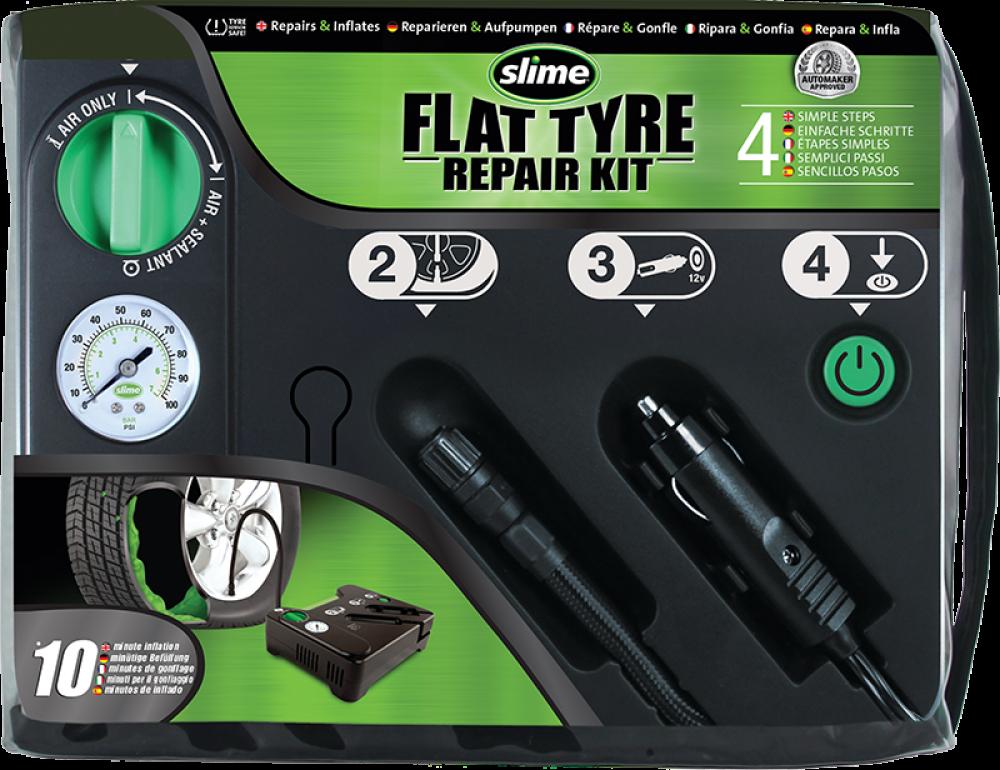 Automatická opravná sada Flat Tyre Repair Kit