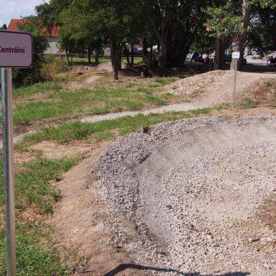 Testovací trať Haibike Morava