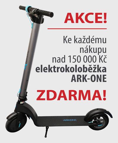 Akce elektrokoloběžka ARK-ONE