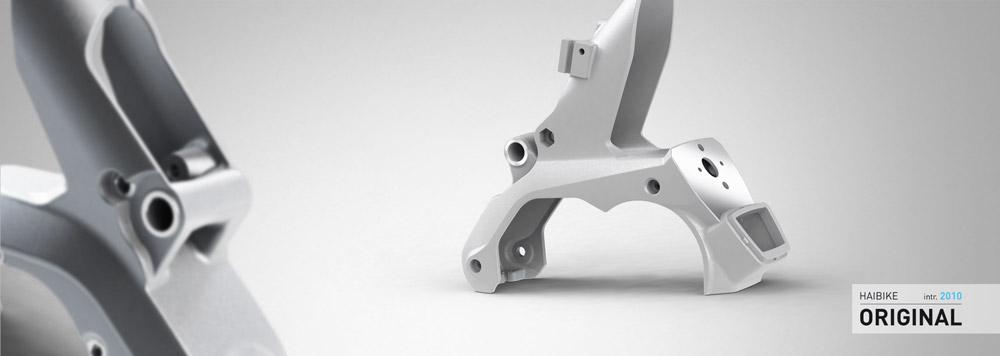 Haibike Technic GravityCasting Interface